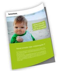 Brochure,lemontree,IT masterplan,beheer,expertisecentrum