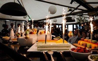 Terugblik feest 20-jarig bestaan Lemontree – Masters in ICT