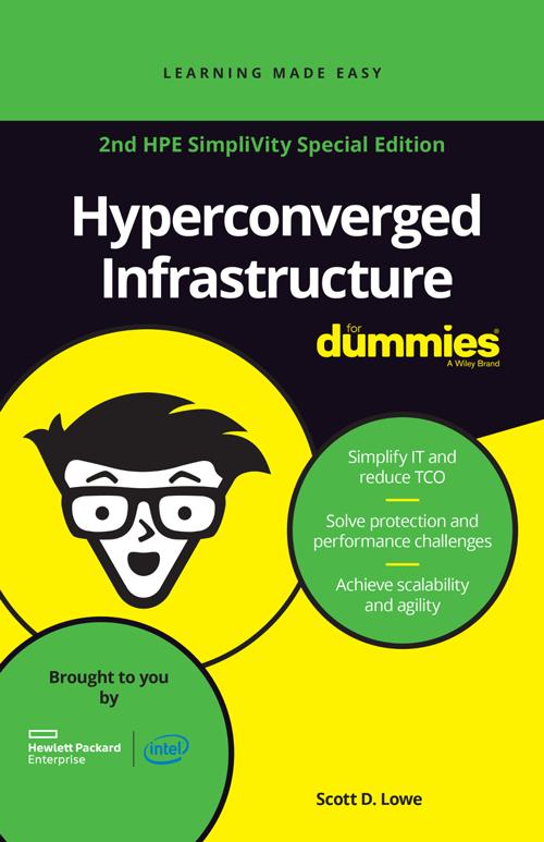 Hyperconverged SimpliVity ebook dummies HPE