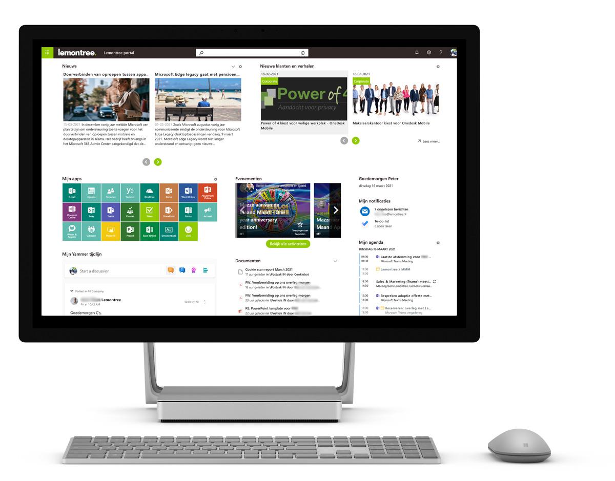 OneDesk Mobile productief en sociaal samenwerken