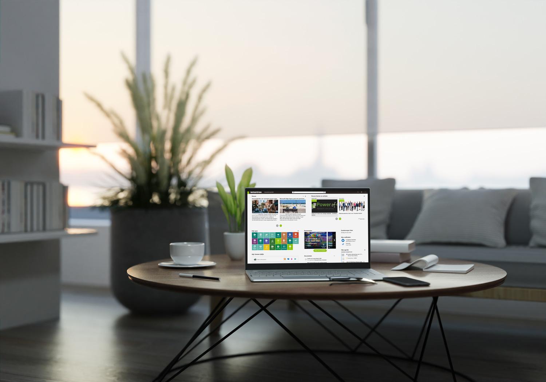 thuiswerken als een pro OneDesk Mobile