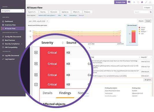 healthcheck Runecast VM, AWS